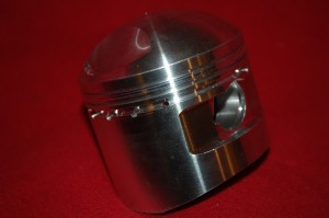 Forged piston for Sunbeam Model 9 and Model 90 7.5:1 compression ratio