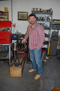 Nigel with Buell Norley frame